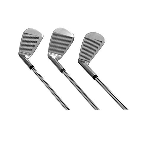Lightest Golf Clubs for a Man or Woman – 3 Irons Replace 9 - Walk the Course With a Fraction of the Weight ! Adjustable Iron Set – Walking Sticks Golf by Walking Sticks Golf (Image #6)
