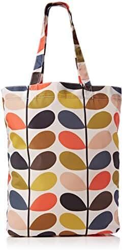 Orla Kiely Classic Multi Stem Packaway Bag (Single Handle)