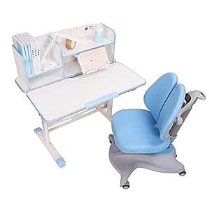 LVZAIXI Mesa de Estudio para niños Ergonomic Childrens Table ...