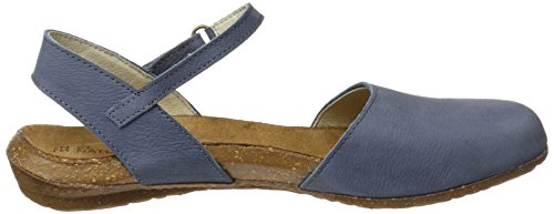 Toe Sandalen Closed orange Vaquero Pleasant Blau Naturalista N412 Wakataua Damen El 7nOY0awqa