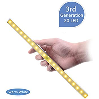 Under Cabinet Led Night Light Kitclan Portable 20 Led