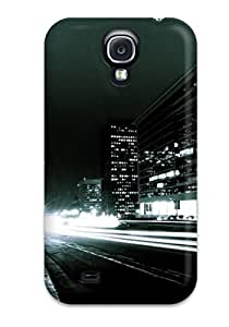 Durable Defender Case For Galaxy S4 Tpu Cover(amazing City At Night )