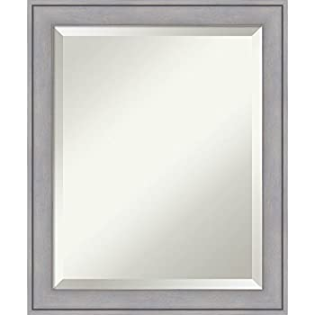 Amanti art bathroom mirror medium fits - Standard bathroom mirror dimensions ...