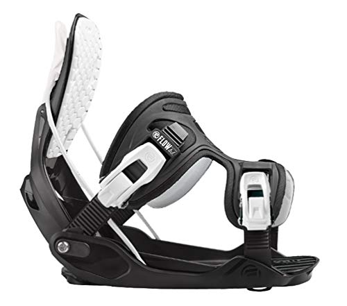 Flow 2019 Alpha Stormtrooper Snowboard Bindings - X-Large - Upgraded LSR Ratchets