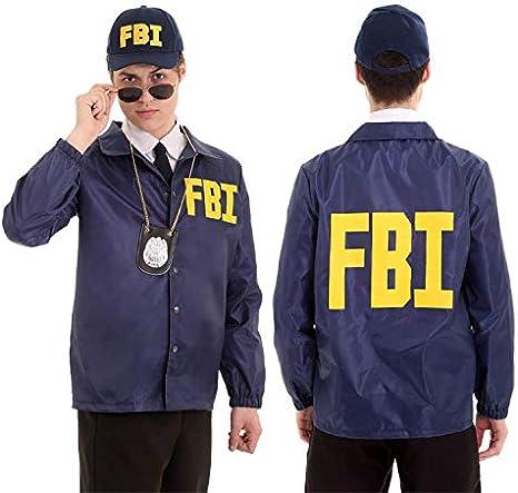 Amazon | アメリカ FBI コスプレ衣装 仮装変装 コスチューム ...