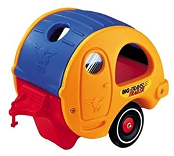 Big Bobby Car Trailer Wohnwagen Travel-trailer Anhänger Kinderfahrzeuge
