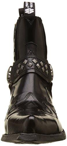7950 Western Nero Rock New s1 Stivali M Uomo Black zwx6qEqXf