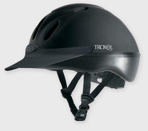 Troxel Spirit Duratec Helmet, Black, Small