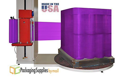 Cast Dark Purple Color Machine Stretch Wrap Film 20'' x 5000 feet x 63 ga 10 Rolls by PackagingSuppliesByMail