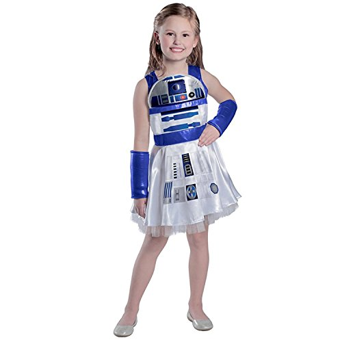 Princess Paradise Girls' Classic Star Wars R2d2 Dress