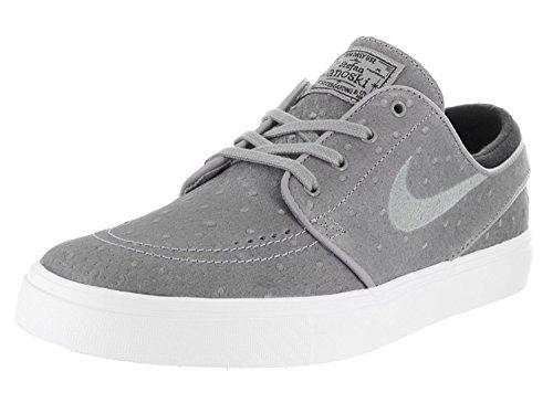 Nike Mens Stefan Janoski Canvas Skate Shoe, negro, blanco (Dust/Dust/Black/White), 42.5 D(M) EU/8 D(M) UK