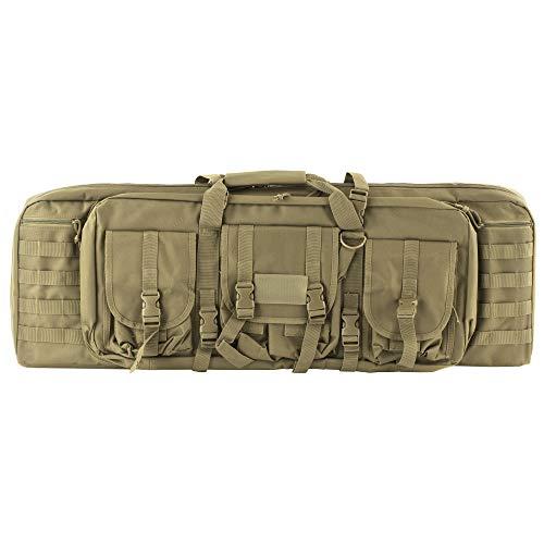 - NcSTAR CVDC2946T-36 Vism Double Carbine Case, Tan, 36-Inch