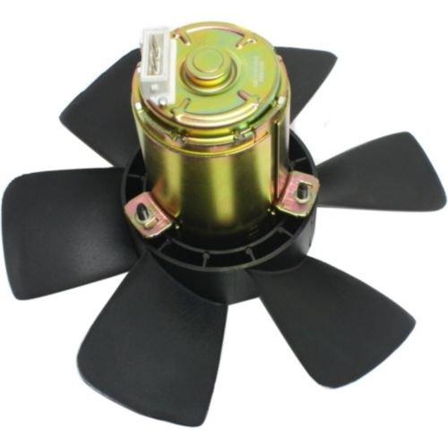 MAPM Premium CABRIOLET 88-93 / JETTA 91-92 RADIATOR FAN and MOTOR ASSEMBLY, w/o A/C, 250watt
