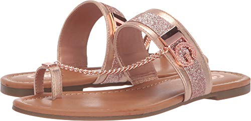 G by GUESS Women's Loona Rose Gold 7.5 M ()