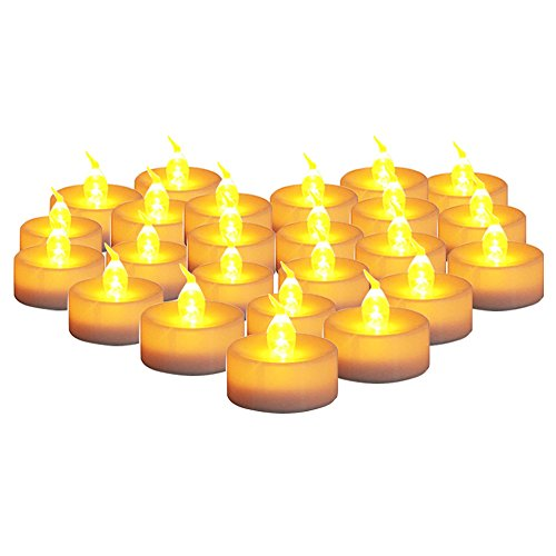 Operated Flickering Flameless Tealight batteries