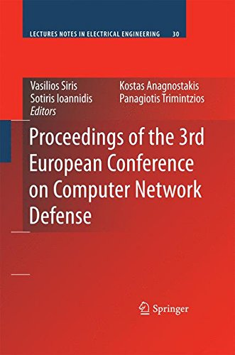 Price comparison product image Proceedings of the 3rd European Conference on Computer Network Defense (Lecture Notes in Electrical Engineering)