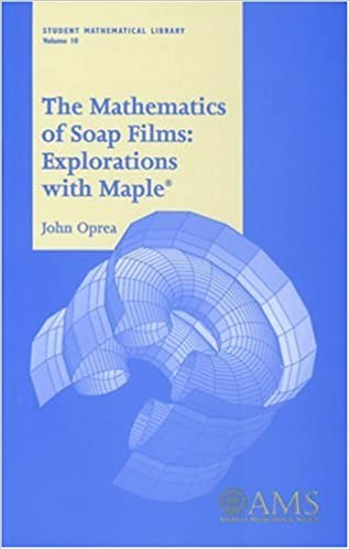 Amazon com: The Mathematics of Soap Films: Explorations With Maple