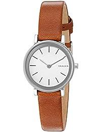 Women's SKW2440 Hald Dark Brown Leather Watch