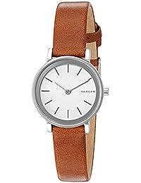 Skagen Women's SKW2440 Hald Dark Brown Leather Watch