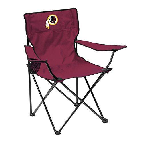 (Logo Brands NFL Washington Redskins Quad Chair Quad Chair, Maroon, One Size)