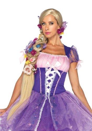 Disney Rapunzel Costumes Adults (Rapunzel Wig Costume Accessory)