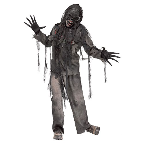 Burnt Zombie Adult Costume (One (Zombie Costume Mens)
