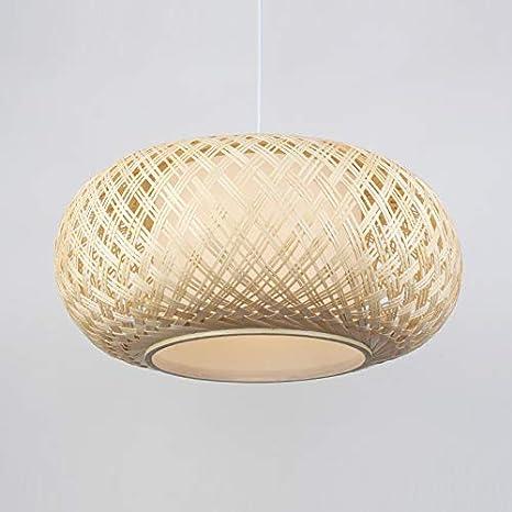 Amazon.com: OAKLIGHTING - Lámpara colgante de bambú para ...