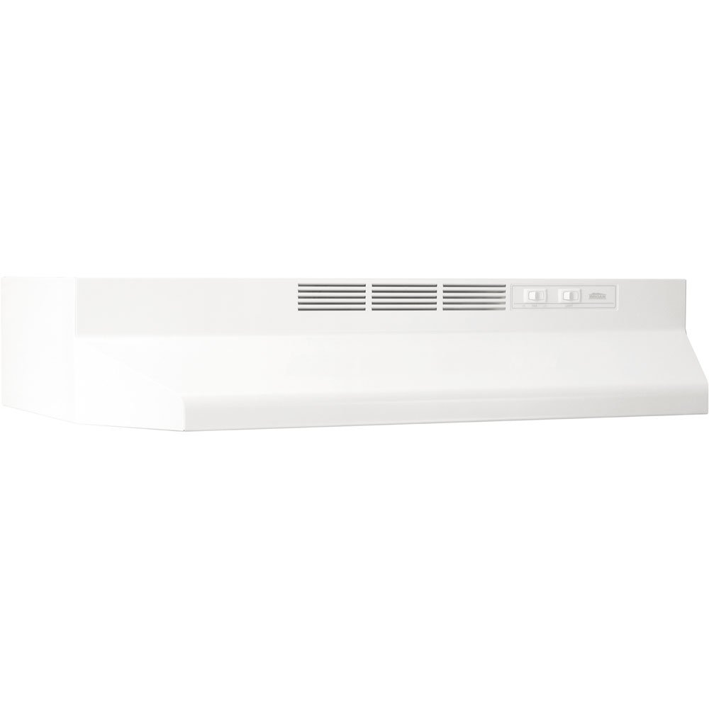 Broan 414201 ADA Capable Non-Ducted Under-Cabinet Range Hood, 42-Inch, White