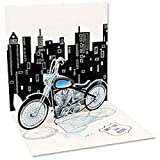 3D Greeting Card - MOTORCYCLE - All Occasion