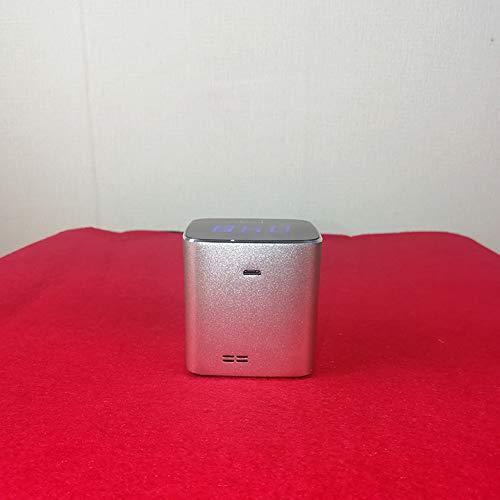 Yupine Monitor de Calidad de Aire de Mano de Gas PM 2.5 Detector, aleación de Aluminio portátil de Alta precisión analizador de Gas multifunción con LCD ...