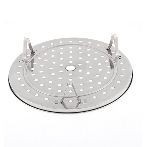 Uxcell Stainless Steel Round Cooking Food Steamer Rack 10 Inch Dia 2 Pcs