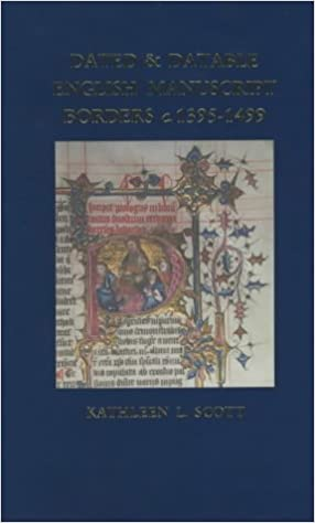 Book Dated and Datable English Manuscript Borders c.1395-1499