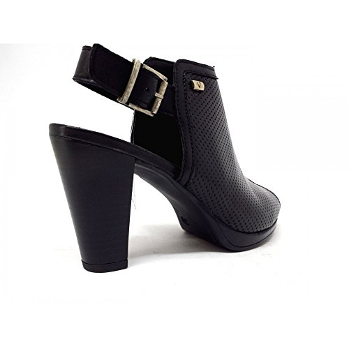VALLEVERDE Women's Court Shoes Black Black Black KC4kR