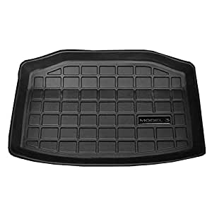 TOOGOO Car Trunk Mat Storage Mat Cargo Tray Trunk Waterproof Protective Pads Compatible for Tesla Model 3 (Rear Trunk Storage Mat)