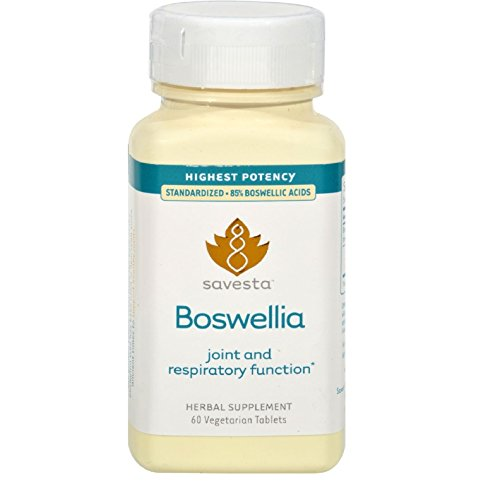 Boswellia by Savesta - 60 Vegetarian Tablets