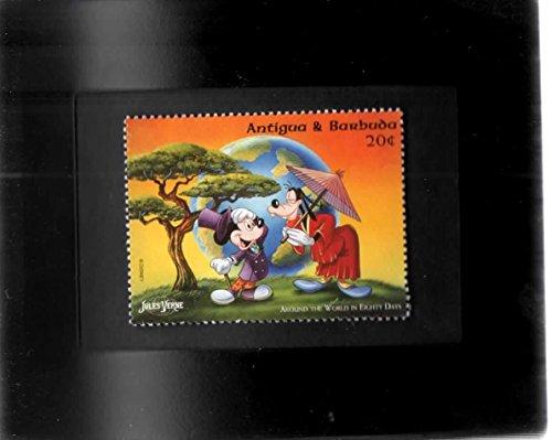Tchotchke Stamp Art - Disney - Around The World In 80 Days - Mickey & Goofy's Adventure (Mickey Around The World In 80 Days)
