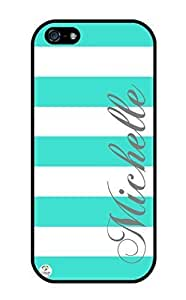WMSHOPE? iPhone 4 4s Case Cover TURQUOISE AND STRIPES PATTERN S S TMOBILE AT