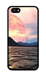 iPhone 5 Case,iPhone 5S Case,VUTTOO Stylish Planet X Soft Case For Apple iPhone 5/5S - TPU Black