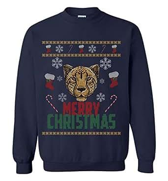 Cheetah Christmas Ugly Sweater Gift | Amazon.com