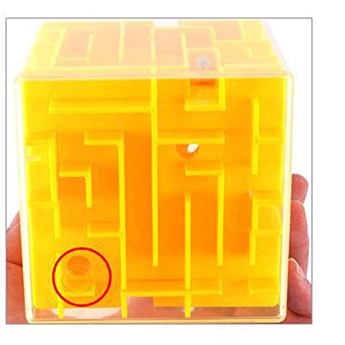 Outlet Laberinto 3d Puzzle Caja Rompecabezas Juego Cubo Laberinto