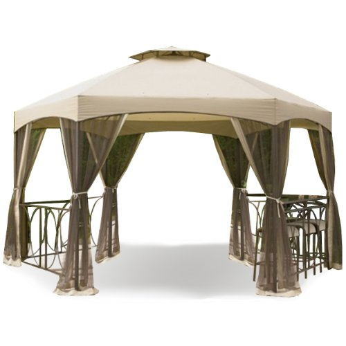 Garden winds replacement canopy and netting set for dutch for Garden winds replacement canopy