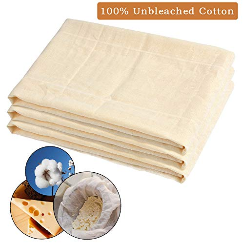 ATPWONZ Cheesecloth 100% Unbleached Cotton Fabric 39 SqFt