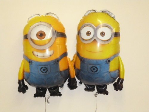 Balloonshop Set of 2 - 30 Despicable Me Minion Foil Balloons Dave and Stuart (CS126+CS141)]()