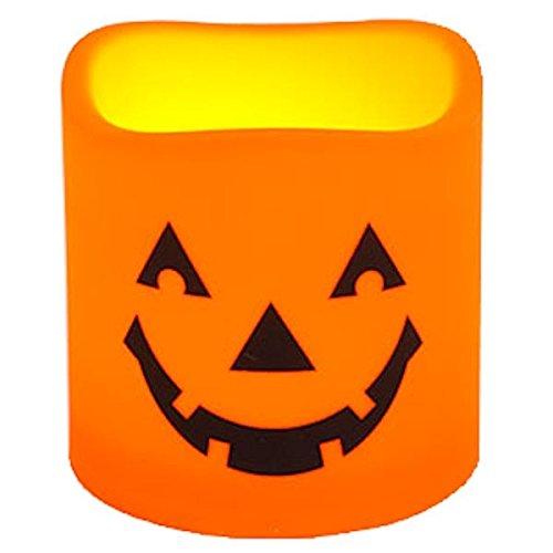 Jack-O-Lantern LED Halloween Indoor/Outdoor Candle 6