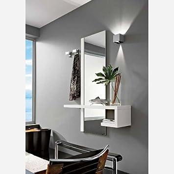 Emporio3 Ingresso moderno con specchio e mensole - PR660: Amazon.it ...