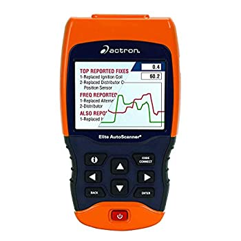 Image of Actron CP9690 Elite AutoScanner Kit Enhanced OBD I and OBD II Scan Tool for all 1996 and newer and select 1984-95 vehicles, CHROME