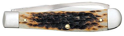 Case Amber Bone Equestrian Pocket Knife by Case (Image #3)