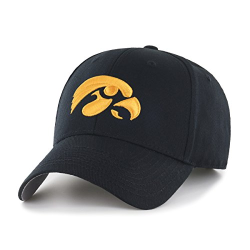 separation shoes 23811 6c756 OTS was formed in 2016 to answer the need of fans who want accessible,  fashion. NCAA Iowa Hawkeyes OTS All-Star MVP Adjustable Hat, Black, One Size