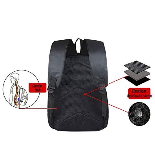 Studente bambini laptop digitale Sjymkyc Poliestere Backpack per Scuola Creative Moda 30 per AYAwHxZq