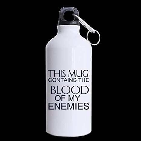 new yearchristmas day gifts funny saying this mug contains the blood of my enemies